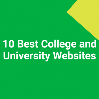 10 Best College and University Websites