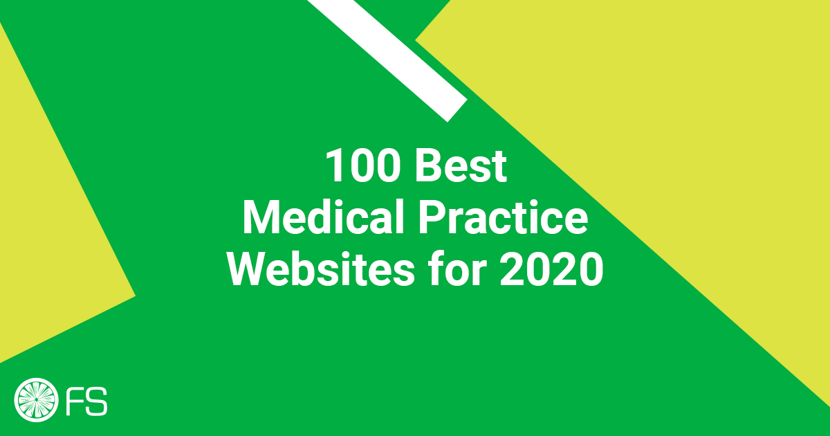 100 Best Medical Practice Websites for 2020