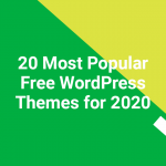 20 Most Popular Free WordPress Themes for 2020