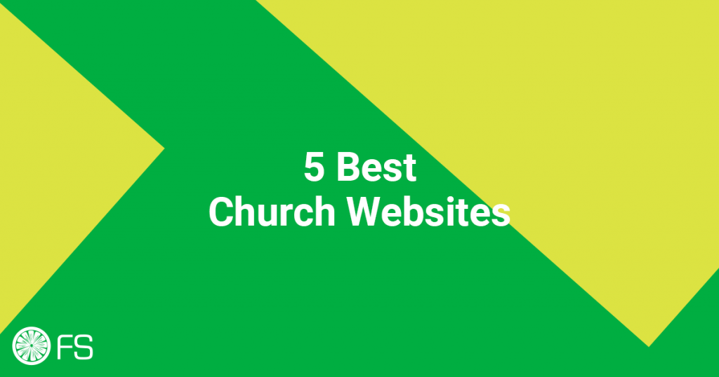 5 Best Church Websites