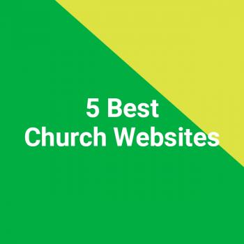 5 Best Church Websites