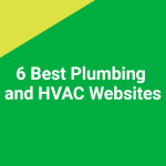 6 Best Plumbing and HVAC Websites