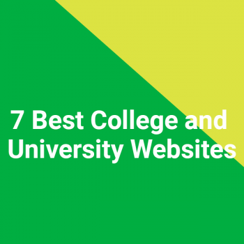 7 Best College and University Websites
