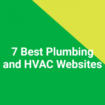 7 Best Plumbing and HVAC Websites