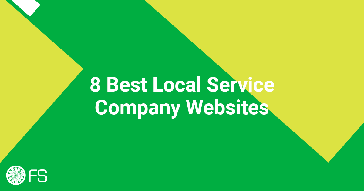 8 Best Local Service Company Websites