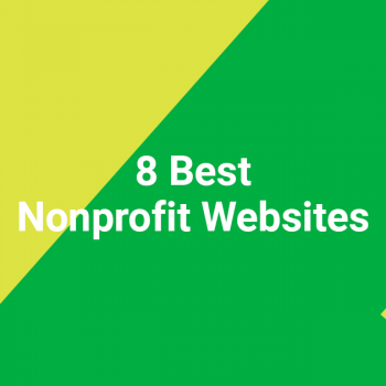 8 Best Nonprofit Websites