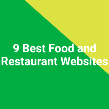 9 Best Food and Restaurant Websites
