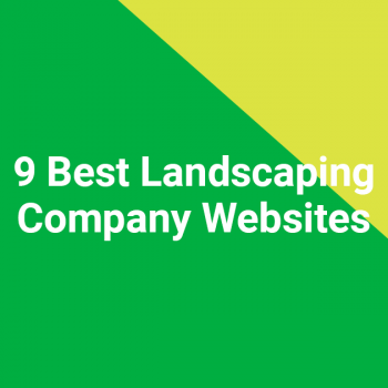 9 Best Landscaping Company Websites