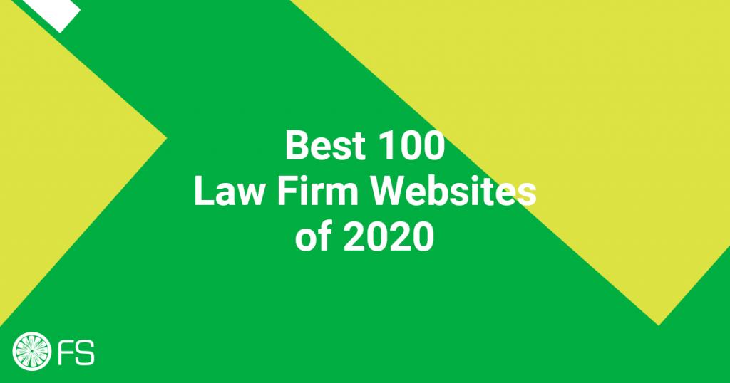 Best 100 Law Firm Websites of 2020