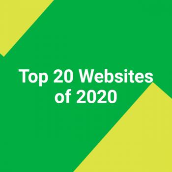 Top 20 Websites of 2020