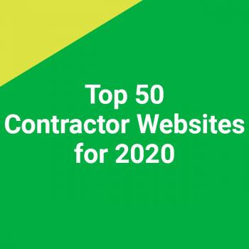 Top 50 Contractor Websites for 2020