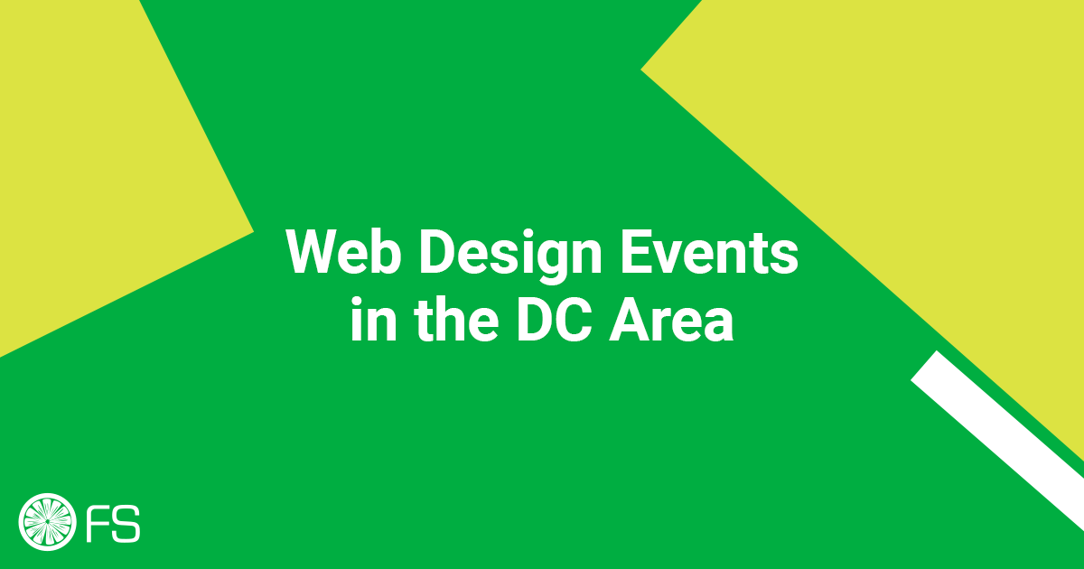 Web Design Events in the DC Area